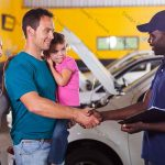 We take care of your car while you wait with your family